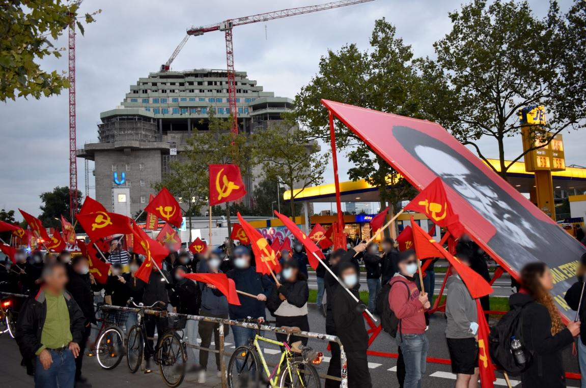 Germany: International demonstration in honor of Chairman Gonzalo
