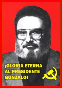 Periódico El Pueblo: Statements and greetings of Honor and Glory to Chairman Gonzalo